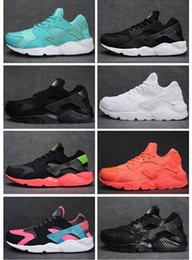 Wholesale 2016 Air Huarache Triple Women Mens Running Shoes Original Quality Air Huaraches Triple Shoes