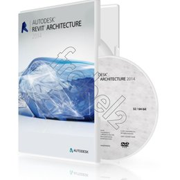 Wholesale Factory Full cracked Autodesk Revit Architecture English for win version DVD English Language software Plastic color box packaging