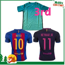 Wholesale Barcelona MESSI jersey A INIESTA SUAREZ SERGIO PIQUE I RAKITIC NEYMAR JR Shirt Club World Cup