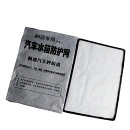 Wholesale OEM products VW Car Radiator Network water tank protection net Auto radiator protective net Vehicle water tank net fit to Tiguan PASSAT Golf