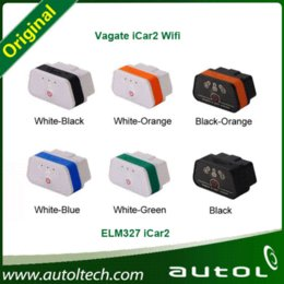 Wholesale Vgate iCar iCar2 WiFi OBDII ELM327 Code Reader Wireless Wifi Diagnostic interface iCar2 update Support Android IOS Java
