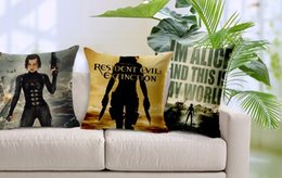 Resident evil series collection thriller pillow massager decorative movie pillows euro cover home decor car funs gift