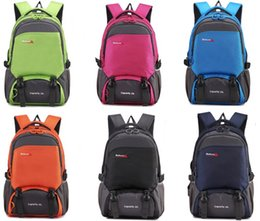 Wholesale Backpacks Sport Outdoor Packs Boys girls Students bags Travel laptop backpacks Shoulder Big capacity Lovers men Water proof Brand L
