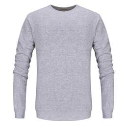 Wholesale-2017 Men's Cashmere Sweater Men's Crewneck Wool Pullover Sweaters Solid Color Authentic