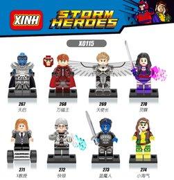 Wholesale Presale June th Available X Men Apocalypse Minifigures XINH Professor X Magneto Building Blocks Models Toys Legoelieds