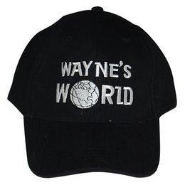 Wholesale Wayne s World Baseball Sport Hat costume Waynes World Cap