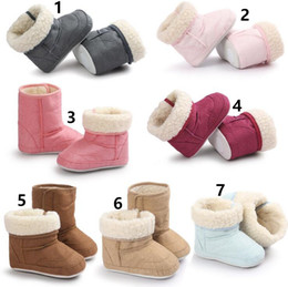 7 Color Baby snow boots Baby shoes Winter Baby shoes soft bottom shoes toddler Baby First Walkers