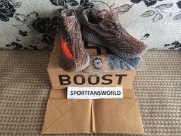 Wholesale DHL Free Sply Boost V2 Kanye West Running Shoes with Keychain Socks Shopping Bag Original Box Beluga V2 New Tpu Bottom Primeknit
