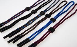 eyewear adjustable sturdy eyeglass sport strap cords sunglass retainer with silicone end tube eyeglass lanyard string