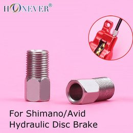 Wholesale 4pcs Mountain Bike Compression Bolt Bicycle Pressing Screw Stainless Steel Fixed Screw for Shimano Avid Hydraulic Disc Brake