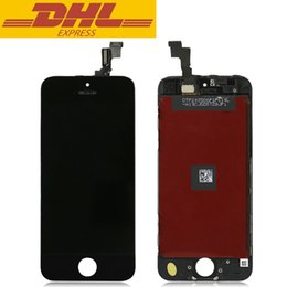 For Apple iPhone 5S LCD Display Screen Replacement Touch Digitizer Assembly AAA Quality No Dead Pixel DHL Freeshipping