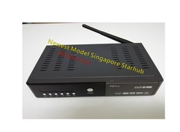 Wholesale 2016Newest Model Singapore Starhub A8 plus box Stable support watch all football for free for wifi open box Satellite Receiver