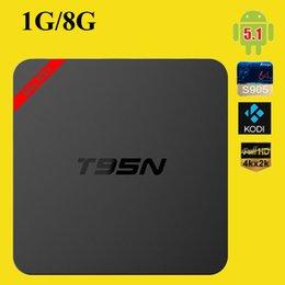 2017 mini boîte hd T95N Mini MX + Amlogic S905 TV Android BOX Kodi 16.0 4K Live TV VS MXQ S805 S905 M8S Mini M8S Q Boîte Smart TV BOX OTH244 abordable mini boîte hd