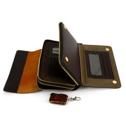Cámaras ocultas bolsa en venta-8 GB hombre del bolso del bolso de la cámara espía cámara oculta bolso de la cartera con el regulador alejado