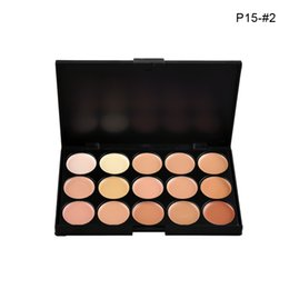 Wholesale 15 Colors Concealer Profession make up Face Cream Maquiagens Skin Concealer Palette best quality brand new In stock