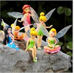 Wholesale Decor for Garden Fairy Garden Miniatures Fairy Genius Elf Mini Figurines Character Decorative mm Hot Sale Cake Accessories Flowerpot Moss