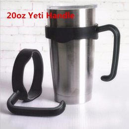 Wholesale High Quality Holder Handle For oz Yeti Rambler Tumbler Plastic Handle Fit For Vacuum Insulated Cup Portable Outdoor Beer Mug Handle