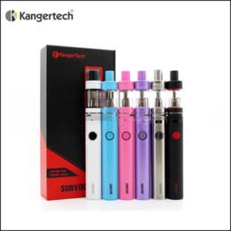 100% Original Kanger Subvod Starter Kit with 1300mAh Battery Top Fill SSOCC Toptank Nano Tank Kangertech Electronic Cigarettes Vape Pen Kits