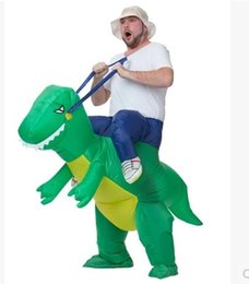 Hot sale mascot inflatable dinosaurs adult Halloween costumes Christmas gifts