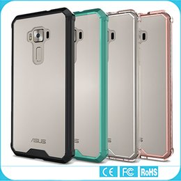 Wholesale ASUS Zenfone Case Transparent Clear Hybrid Bumper Shockproof Back Cover Phone Accessories For ASUS Zenfone