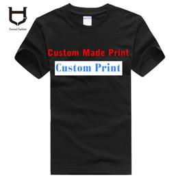 Wholesale Mens Womens Customised Logo Print Heat Transfer Printing plus size XXXL Cotton Custom T shirts g printing logo clothes