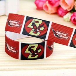 """7 8"""" 22mm Red Black Eagle Printed Grosgrain Ribbon DIY Hairbows Accessories Headwear Gift Wrap Materials 50 100Y A2-22-2550"""