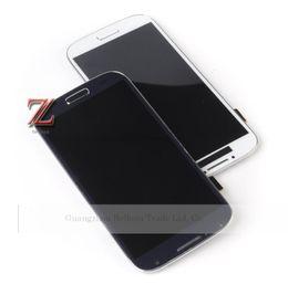 2016 écrans lcd samsung Gros-i9500 LCD SALE ADVANCED! Pour Samsung Galaxy S4 i9500 i337 i545 i9505 écran Lcd Display Cadre tactile Digitizer verre + + cadeau budget écrans lcd samsung