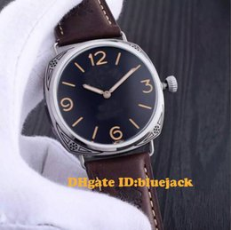 Wholesale Men s Watch Leather Strap Sculpture PA00672 P3000 Mechanical Hand Winding mm HUANV60625