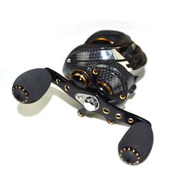 Wholesale Gros coréen technologie Shishamo LB200 Baitcasting Reel roulements à billes Carp Pêche Bass Fishing Gaucher Castings Right Hand Bait