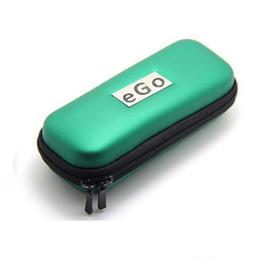 2017 porter coloré Designer Etui Cigarette Colorful E EGO Zipper élégant Long Carry Box pour Cigarette électronique avec 7 couleurs abordable porter coloré