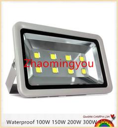 YON 1pcs Outdoor lighting 100W 150W 200W 300W 400W Epistar Led Floodlight AC85-265V Flood light Waterproof Outside Led Reflector