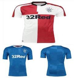 Wholesale 2016 Rangers Jersey best Lyon quality Glasgow Rangers soccer Jersey