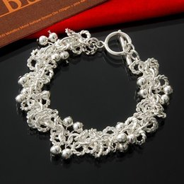 Wholesale Factory direct and retail Sterling Silver TO car wreath with Bead Bracelet Silver Jewelry