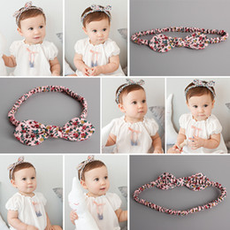 Wholesale Top Quality 10pcs Lot Fashion Solid Fabric Floral Baby Girls Headband Cute Flower Dot Baby Photography Headware