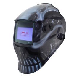Wholesale Out adjust Big view eara arc sensor grinding cutting Solar auto darkening TIG MIG MMA welding mask helmet welder cap face mask