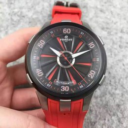 Wholesale Top Selling Factory Seller NEW Perrelet Automatic Mechanical Watch Turbine Racing quot Playing with Fire quot Double Rotor since P E Watch