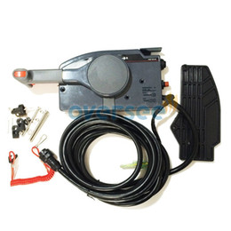OVERSEE Outboard Remote Control Assy With 7Pin Cable For yamaha outboard remote control box 703-48203-17