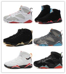 Wholesale Retro VII BORDEAUX NOTHING BUT NET GOLDEN MOMENTS PACKAGE HARE BARCELONA NIGHTS CHAMPAGNE CIGAR High Quality Air Size