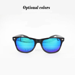 Wholesale Complimentary NEW Fashion Hot Manufacturers Mercury Piece Fan Bingbing The Same paragraph m nail reflective Sunglasses unisex Sunglasses