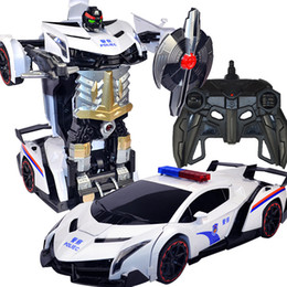 Wholesale 2016 Remote control deformation ofchange to king kong boy toy deformation autobots king kong A birthday present