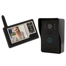 """FKH 3.5"""" TFT Color Display Wireless Waterproof Video Intercom Doorbell Door Phone Intercom System"""