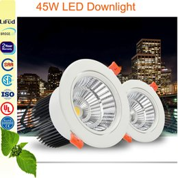 Wholesale High power W Downlights led ceiling light round panel light indoor lighting mm cut out size years warranty