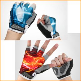 Cycling Gloves Half Finger Mens Women's Summer Bike Bicycle Gel Gloves Sport Mountain Bike Riding Gloves M-XL