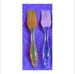 Wholesale Crystal handle high temperature resistant silica gel brush bbq brush cream silica gel sweep sauce brush