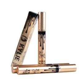 Wholesale Leo Kylie Birthday edition thick waterproof mascara kylie Black Eye Mascara Long Eyelash Cosmetics Makeup Black Lash DHL MR224