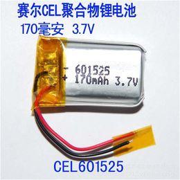 Promotion évaluation des ordinateurs Nouveau Li-ion Cell 601525 170mAh 3.7V lithium polymère batterie batterie de taux élevé MP3 batterie pour GPS Pièces d'ordinateur portable