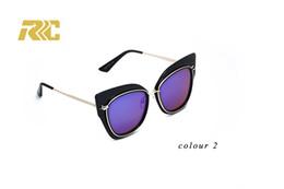 Round Cat Eye Sunglasses Men Women Brand Designer Eyewear Metal Frame Sun Glasses Oculos De Sol Lunette De Soleil