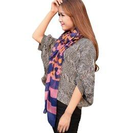Wholesale New Design Women Bali Yarn Gauze Scarf Gauze Keep Warm Jacquard Scarf Wonderful gift for your female friends O21