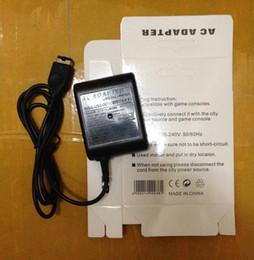 EU US Plug AC Accueil Travel Wall Power Chargeur Adaptateur de câble avec boîte de détail pour Nintendo DS Gameboy Advance GBA SP 50pcs / lot à partir de ds gba de fabricateur