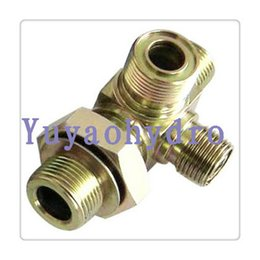 Wholesale 2016 Promotion Casting Welding Carbon Steel Nipple Bushing Square Elbow Forged Steel Multimetro Orfs Special Fitting with Steel Forged